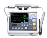 Semi-automatic external defibrillator / with ECG and SpO2 monitor / emergency